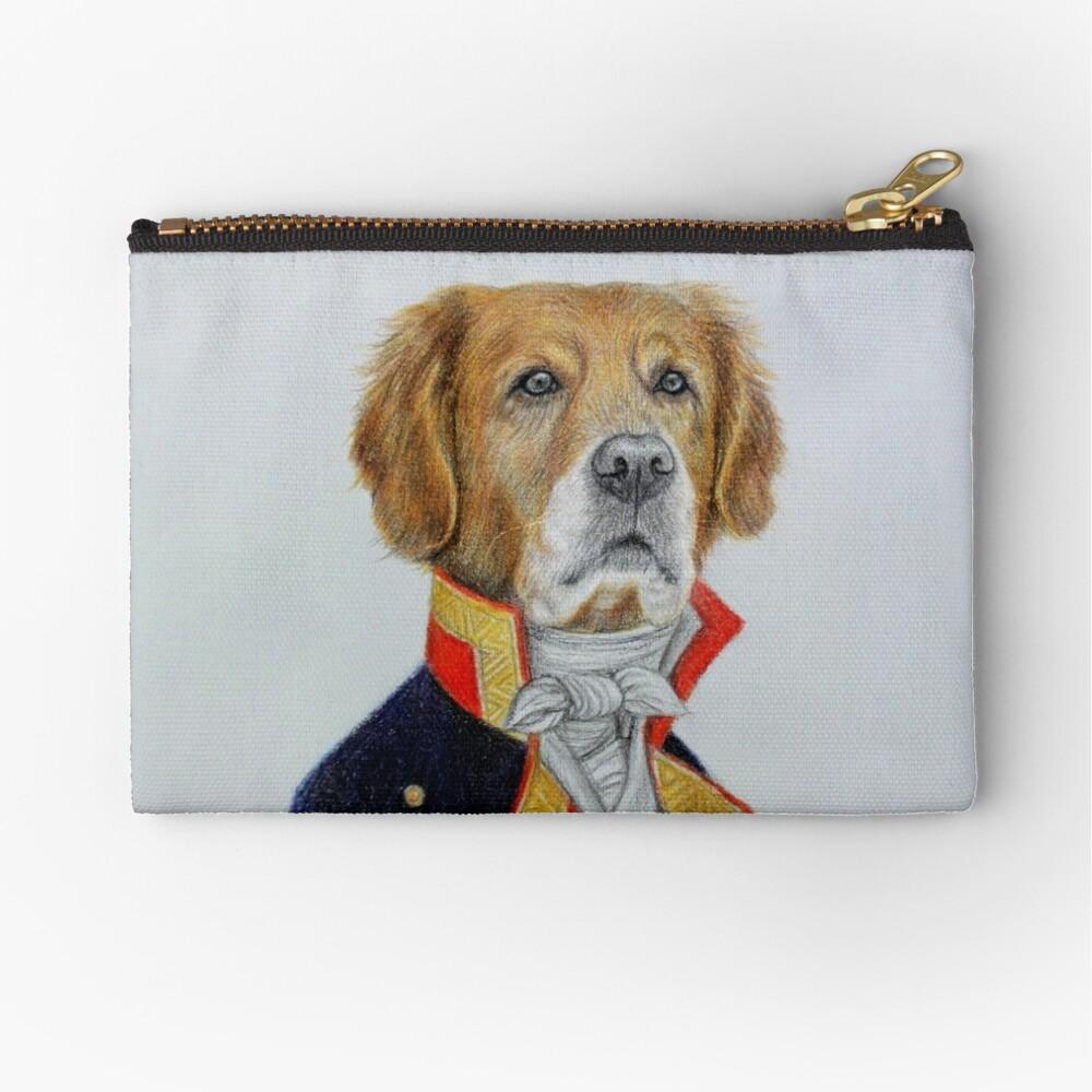 dog king Zipper Pouch
