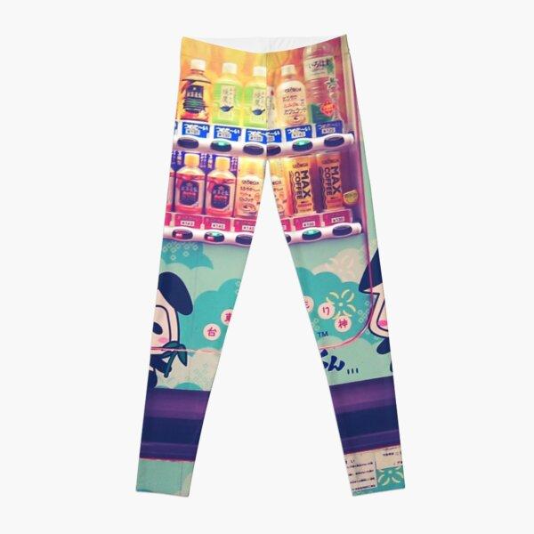 Panda Soda Machine Leggings