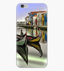 Two Boats in Aveiro iPhone Case