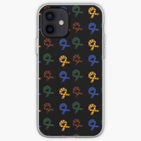Honesto, leal, inclusivo, astuto, orgulloso y amable Funda blanda para iPhone