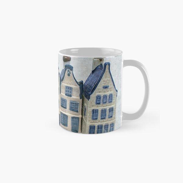 Dutch delft blue house Classic Mug