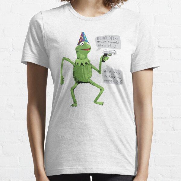 Yer A Wizard Kermit Essential T-Shirt