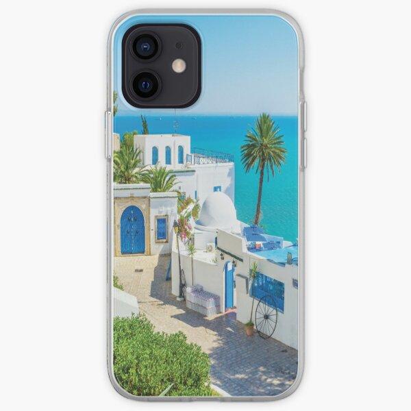 Sidi Bou Said Tunisie Coque souple iPhone