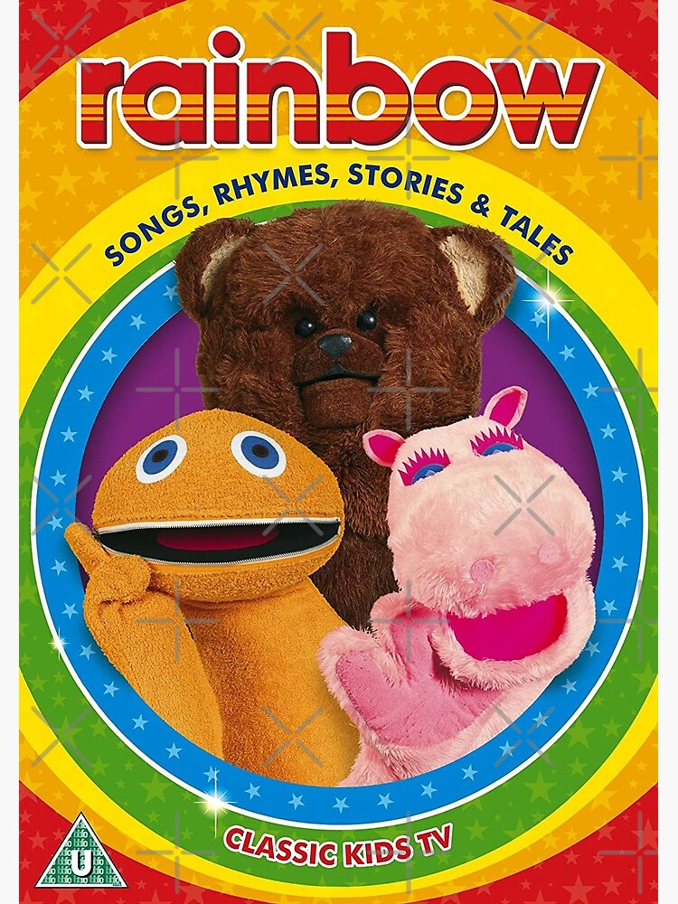 LAST FEW Rainbow TV Series Bungle Bear Oh Silly Embroidered Patch