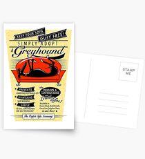 Simply Adopt a Greyhound Postcards