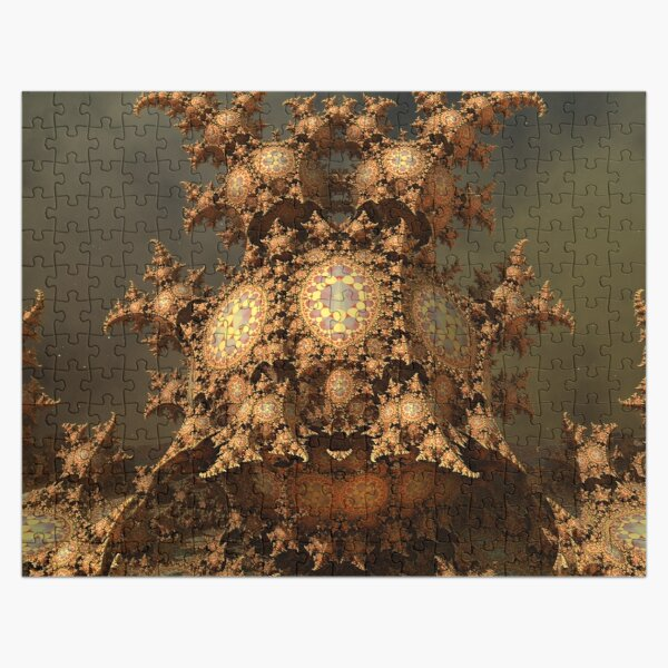 Decoratively Dotted Jigsaw Puzzle