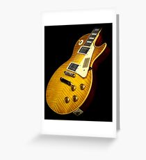 Gibson Les paul  Greeting Card