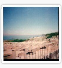 The Dead Sea on 120mm film  Sticker