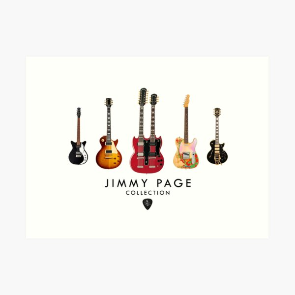 Jimmy Page Collection Art Print