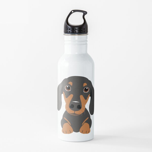 Cute Dachshund Sausage Dog Water Bottle