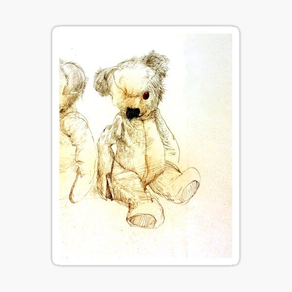 Teddy, Where Are You? Sticker