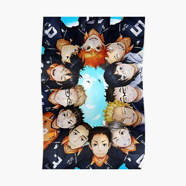 Haikyuu!! team discussion Poster