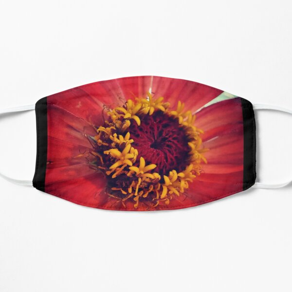 red zinnia - details Mask