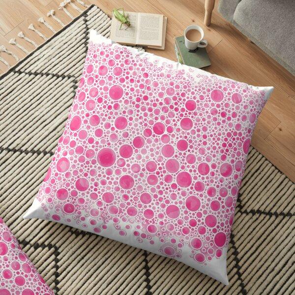 Cluster Bow Bubbles Floor Pillow