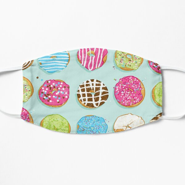 Sweet donuts Flat Mask