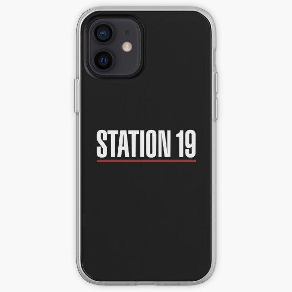 série station 19 Coque souple iPhone