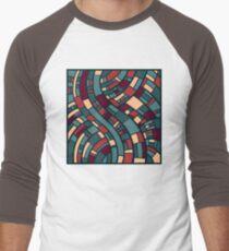 Abstract Art Men's Baseball ¾ T-Shirt
