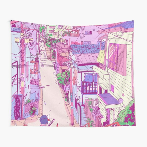 Anime Retro Tapestry