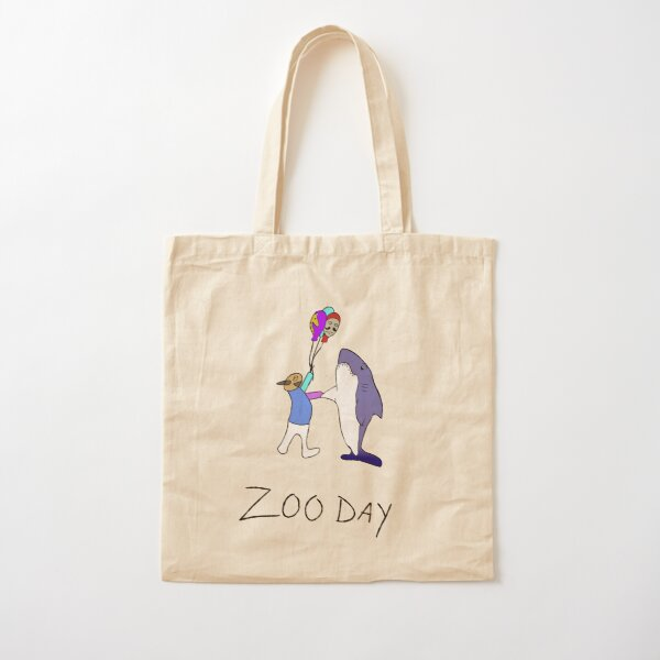 ZOO DAY Cotton Tote Bag