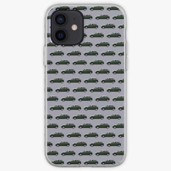 Mini style vert Coque souple iPhone