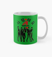 ♥♫SaRangHaeYo(Love) Hot Fabulous K-Pop Girl Group-4Minute Cool K-Pop Clothes & Phone/iPad/Laptop/MackBook Cases/Skins & Bags & Home Decor & Stationary♪♥ Mug