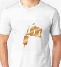 Golden tattoo machine Unisex T-Shirt