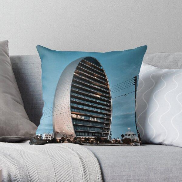 Urban adventures Throw Pillow