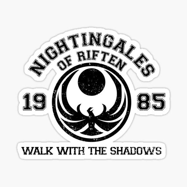 Nightingales of riften Sticker