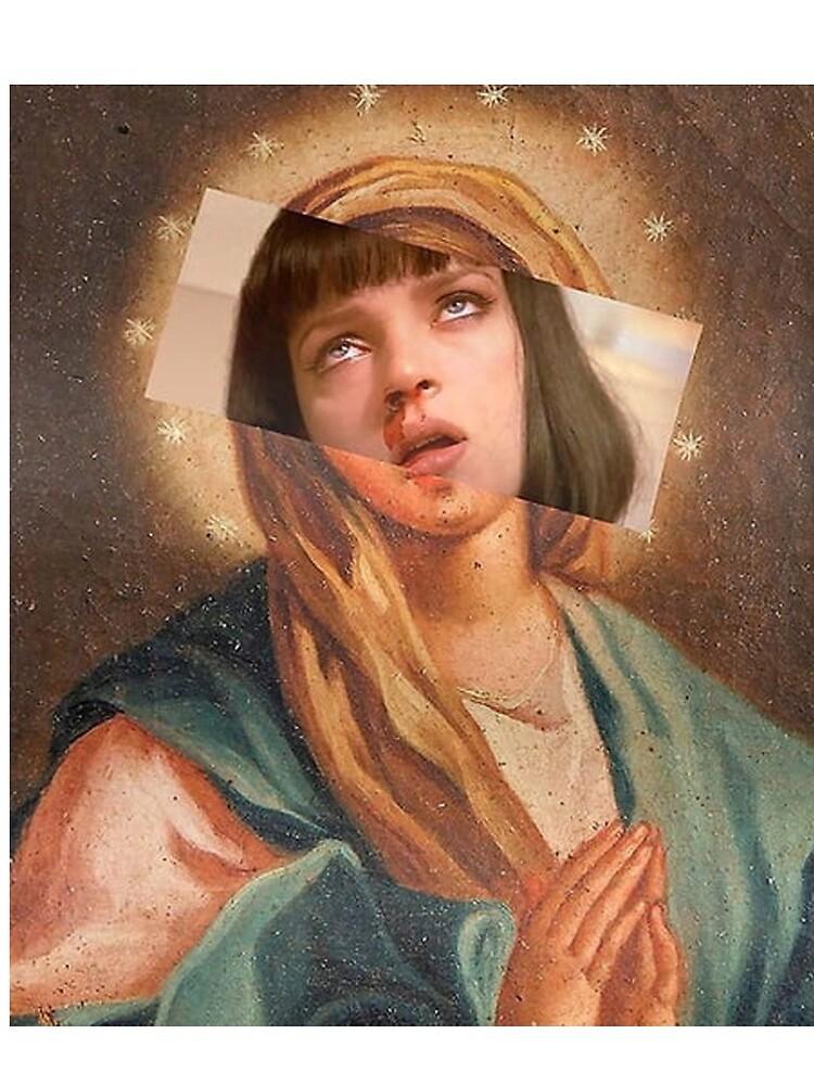 Virgin Mia Damn Pulp Fiction Mia Wallace by MoussaAnnab