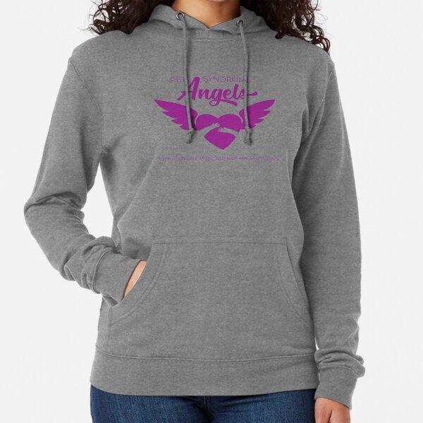 RS Angels Purple Logo Lightweight Hoodie