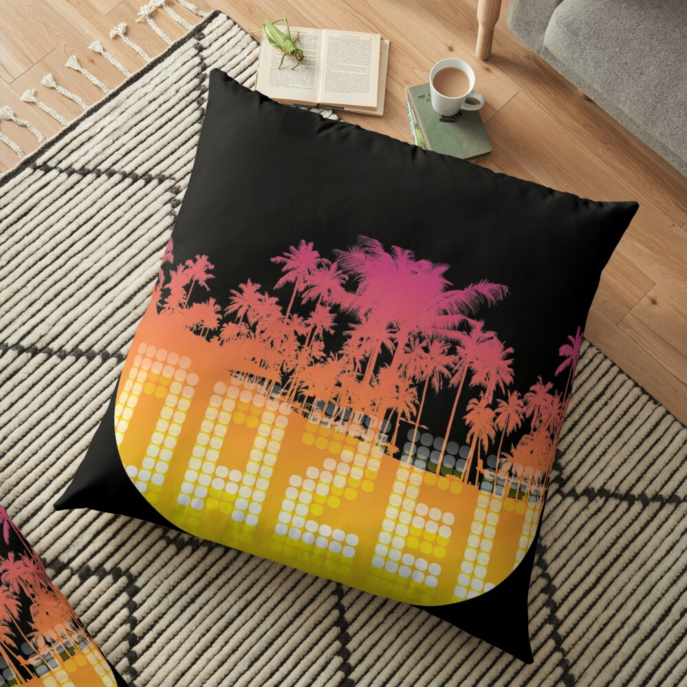 Dazed & Confused Floor Pillow