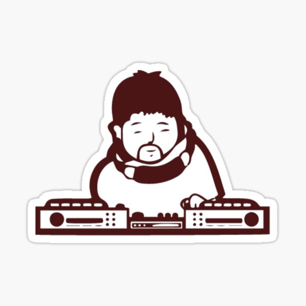 Nujabes - Rest In Beats Sticker