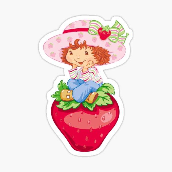 strawberry shortcake vintage sticker Sticker