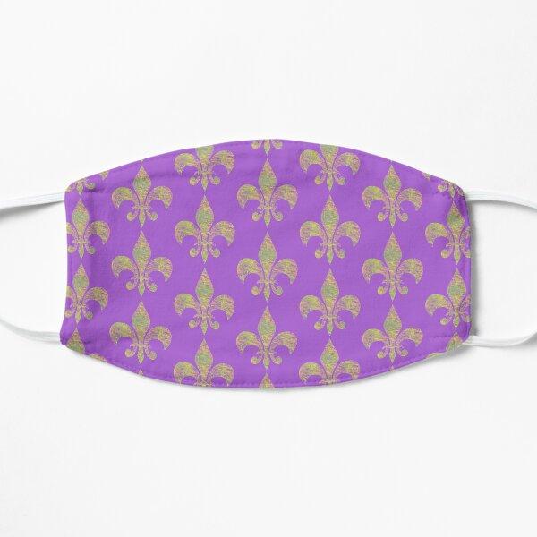 Mardi Gras Party Fleur de Lis Flat Mask
