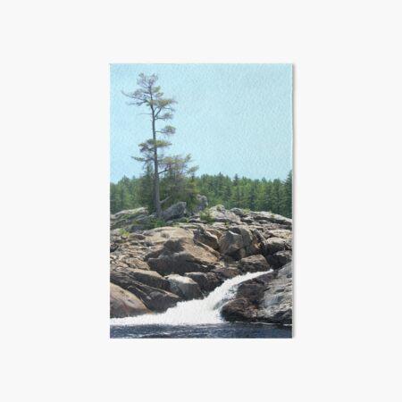 Northern Ontario Art Board Print