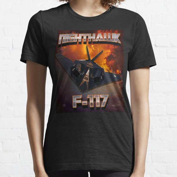 F-117 Nighthawk Stealth Fighter Pilot  Essential T-Shirt