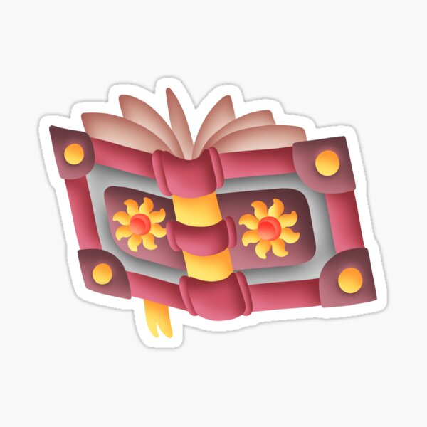 Spell Book Sticker