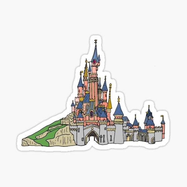Disneyland Paris - Sleeping Beauty's Castle Sticker