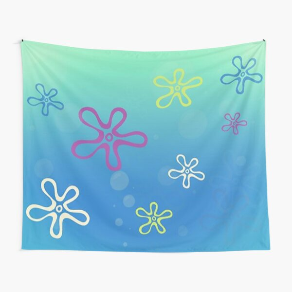 Bikini bottom spongebob tapestries tapestry Tapestry