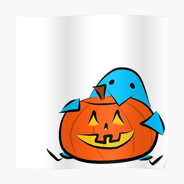 Pumpkin Wug Poster