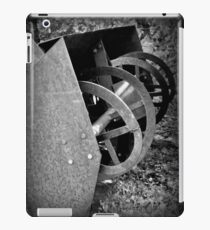 Farm Machinery   BNW   Black and White   Agricultural iPad Case/Skin