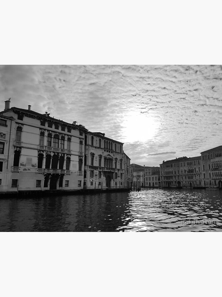 Atmospheric Grand Canal, Venice by italyheaven