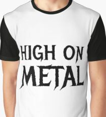 Death Metal Hard Rock Music  Graphic T-Shirt