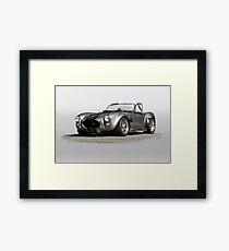 1966 Shelby Cobra 'Silver Bullit' Framed Print