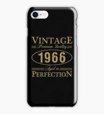 Born In 1966 Gag Gift iPhone Case/Skin