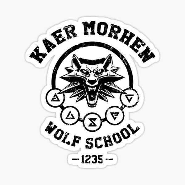 Wolf School Sticker