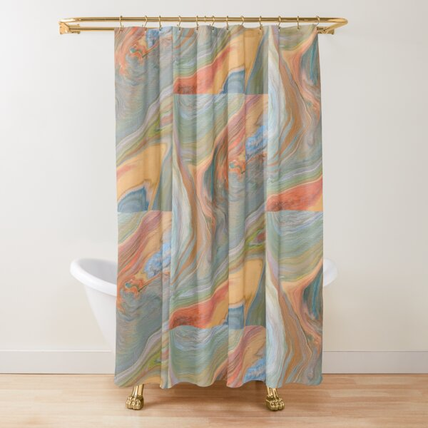 An earthly view  Shower Curtain