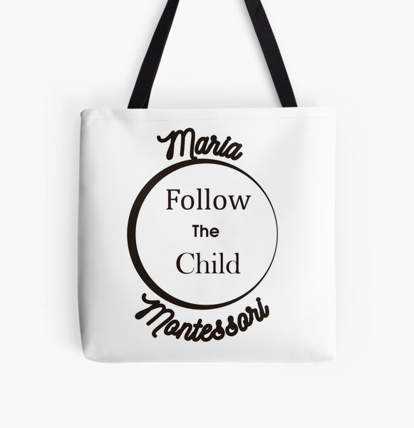 Follow the child  All Over Print Tote Bag