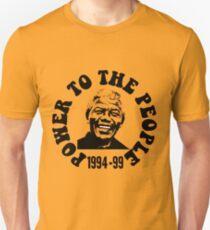 """POWER TO THE PEOPLE""-MANDELA Unisex T-Shirt"