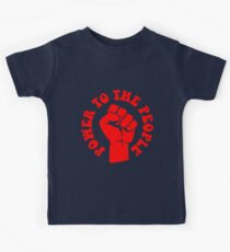 """""""POWER TO THE PEOPLE"""" Kids Clothes"""